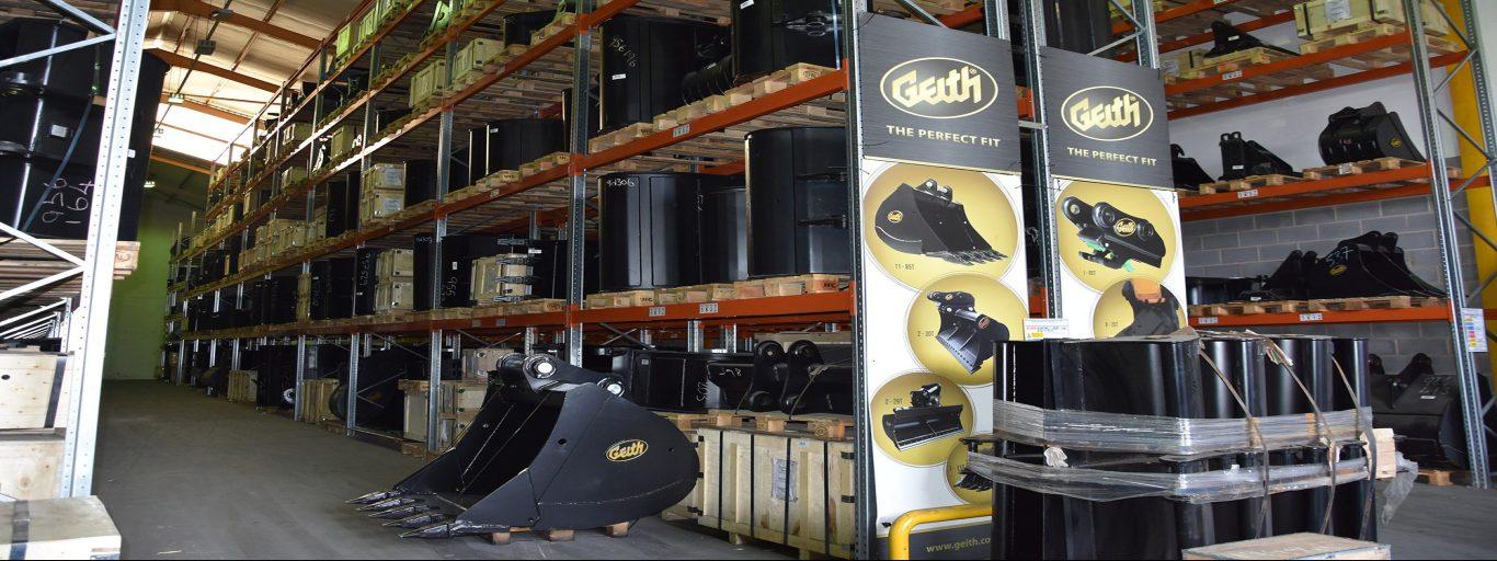 Geith Attachments Warehouse