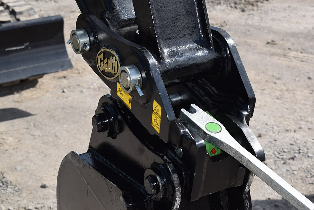 Geith Mechanical Quick Coupler
