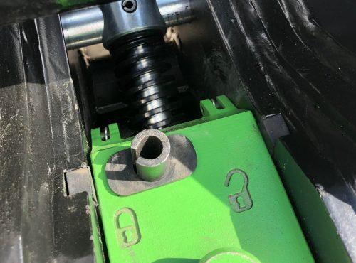 Geith Mechanical Quick Coupler Internal View